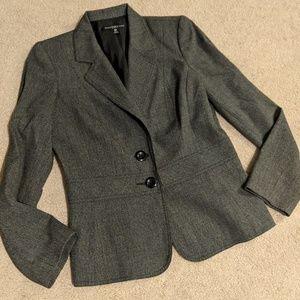 Charcoal Gray Blazer- Size 6P